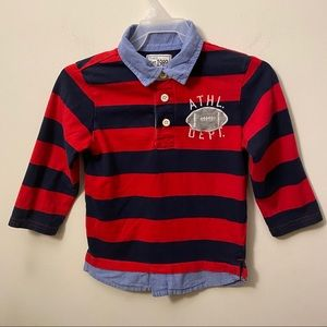 Children Place Stripes long sleeves shirt size 3T